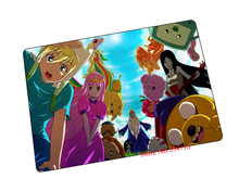 Adventure Time mouse pad hot sales game pad to mouse notebook computer mouse mat brand gaming mousepad gamer laptop(China)