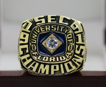 1991 FLORIDA GATORS SEC NCAA FOOTBALL National Championship Ring 7-15 Size COPPER SOLID ONE(China)