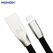 NOHON For Apple USB Cable Noodle Fast Charging Cable For iPhone 7 6 6S Plus 5 5S SE iPad iPod iOS 8 9 10 Phone Data Sync Cable(China)