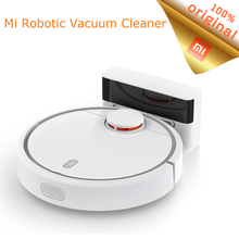 Original Xiaomi Mijia Mi Smart Home Robot for home Sweeping Dust Sterilize Smart Planned Mobile App Remote Control in Stock(China)