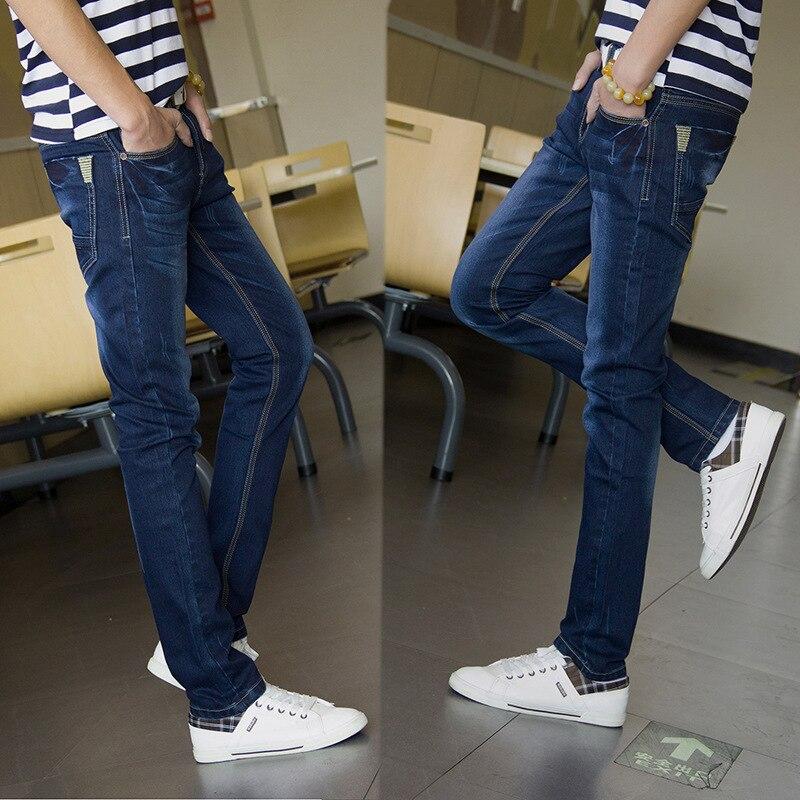 New 2017 famous brand men jeans mens  slim stretch long male denim pants  long man trousers skinny jeans for men Y384Одежда и ак�е��уары<br><br><br>Aliexpress