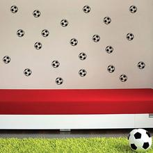 Decoration Art Mural Decal Sticker Decor Football Player Kids Personalized Bedroom Wall Stickers Home Decorating
