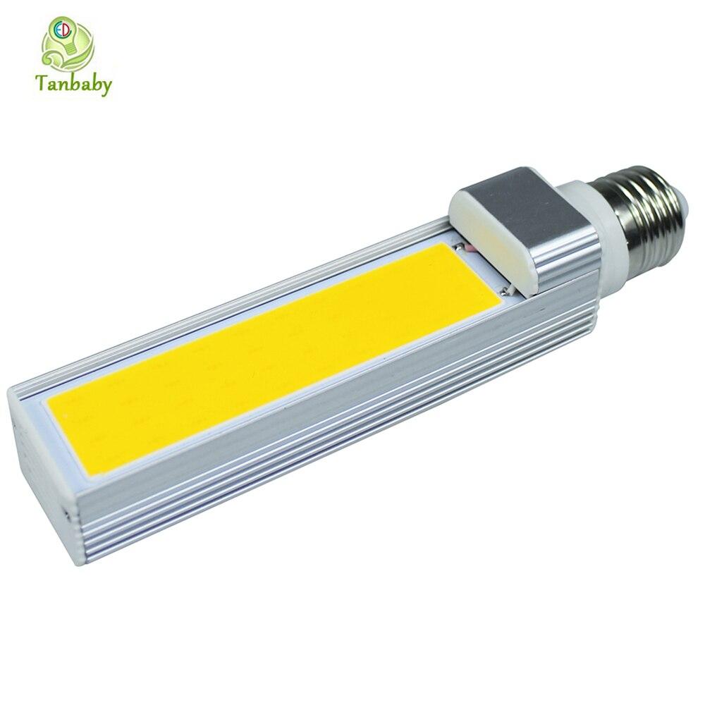 Tanbaby COB LED light bulbs E27 20W Horizontal Plug Lampara White, Warm white AC85-265V led spotlight fixture house light<br><br>Aliexpress