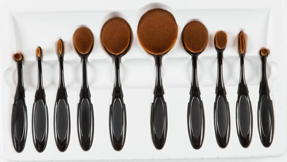 high quality paint art brushes free style oil watercolor acrylic brush WSH brush taklon hair plastic handle<br>