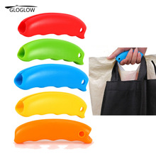 Silicone Hooks For Hanging Handbag Basket Shopping Bag Holder Carry Bag Handle Comfortable Grip Protect Hand Tools