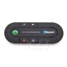 Car Blutooth Android Wireless Handsfree Car Bluetooth Kit Speaker Speakerphone Universal Bluetooth Car Kit for Any Car(China)