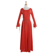 Women s Red Taditional Medieval Dress Victorian Vintage Gothic Ball Gown  Dress Halloween Party Costume Custom Made b4a5637a1