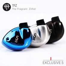 Buy TFZ EXCLUSIVE 5 Inner-Ear Earphones HiFi Audiophile Graphene Driver Detachable Cables Earphone Hifi Music Monitor Earbuds for $91.90 in AliExpress store