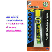 30ml Multi-purpose clear contact glue super bonding adhesive daily repair for plastic metal wood rubber cloth paper leather shoe(China)