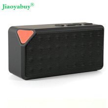 Jiaoyabuy Mini X3 Boombox Wireless Bluetooth Speaker Microphone For Tablet Cell Phone Computer Outdoor Kitchen(China)