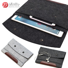 "Woolen Felt  Sleeve Bag Case Pouch Tablet Cover  For Apple iPad Pro 12.9"" Sleeve Pouch Bag Laptop Bag Anti-scratch Shockproof"