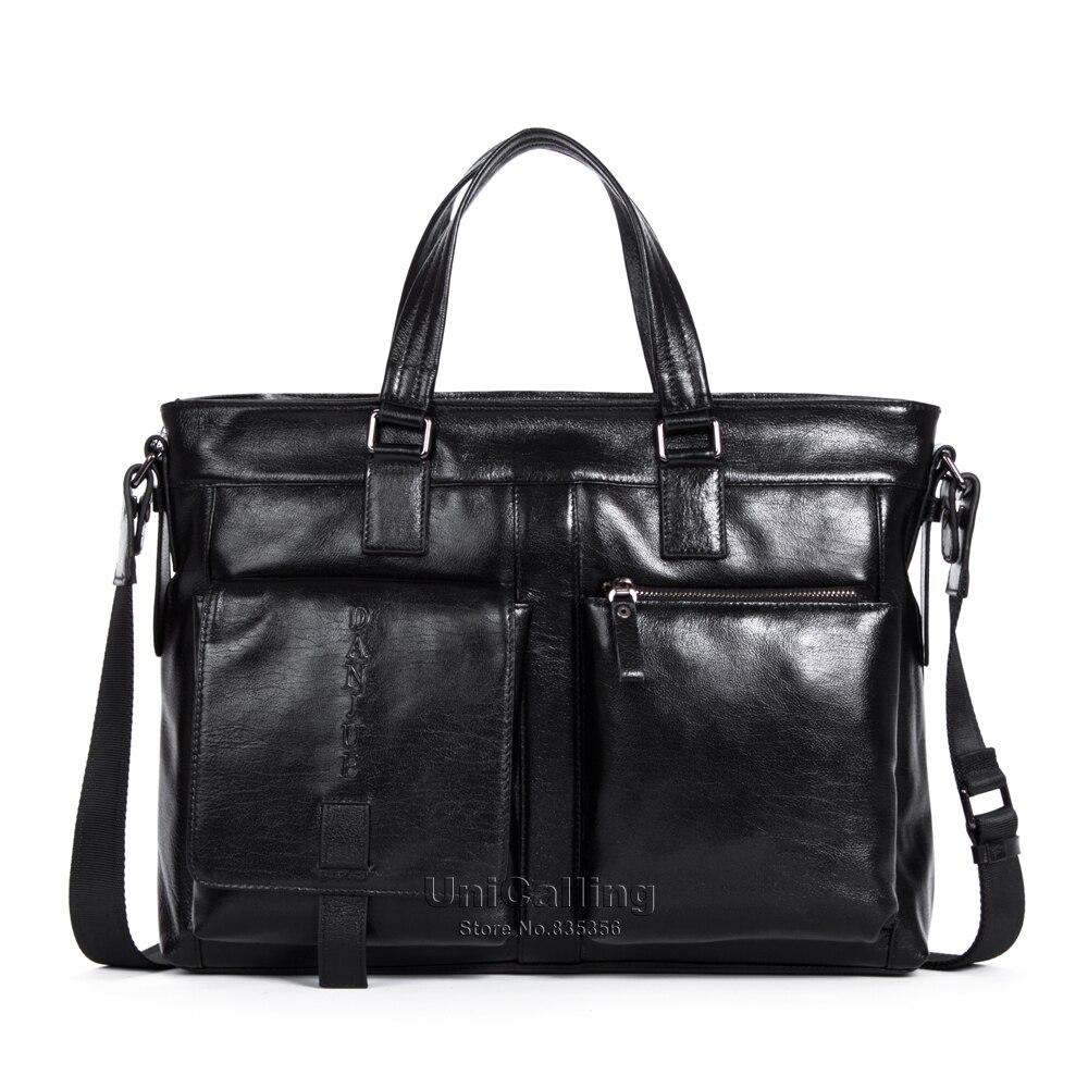New Arrival hot genuine leather laptop bag 14 real skin cowhide men computer bag fashion large capacity men handbag of leather<br><br>Aliexpress