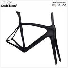 Smileteam T800 Full Carbon Road Framesets Carbon Bike Frames UD Full Carbon Fiber Bicycle Cycling Racing Framesets