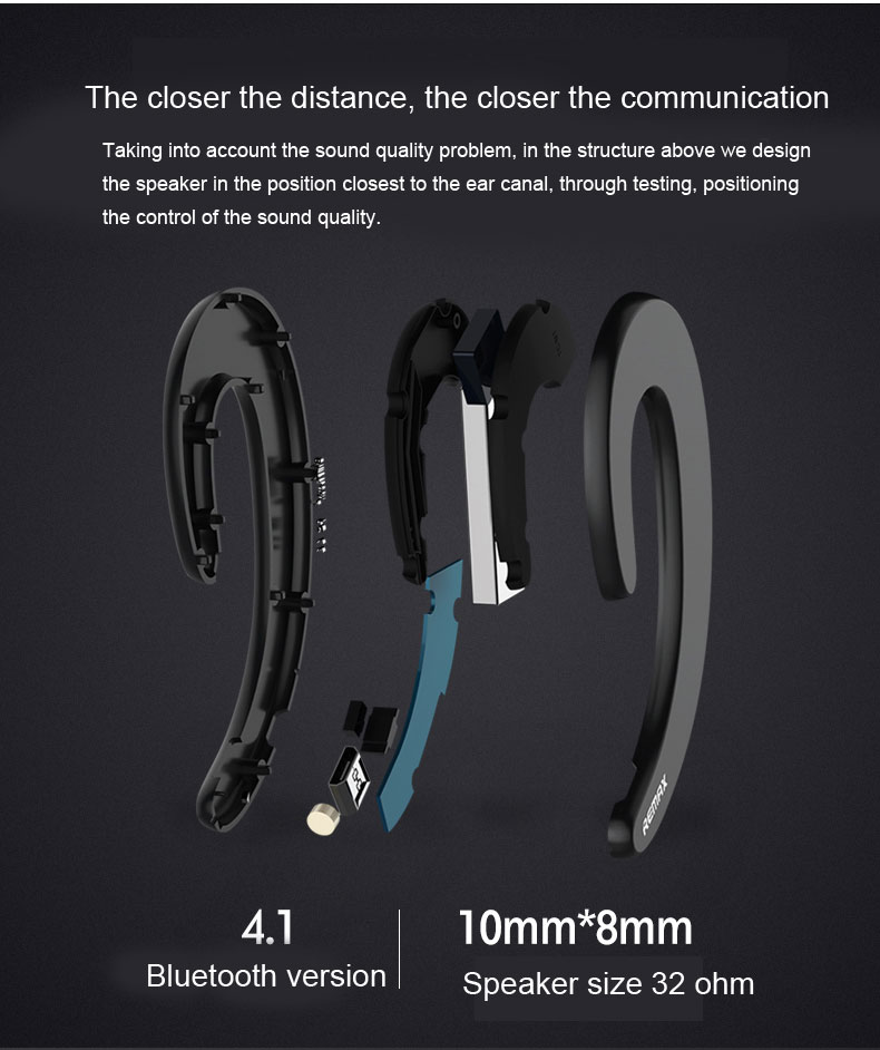 Remax RB-T20 Mini Bluetooth Earphones