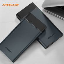 Buy Original Teclast T100UC-N Dark Gray Ultra-thin 10000mAh Emergency Power Bank LED Display iPhone Samsung Smart Phones for $20.78 in AliExpress store