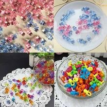 SuperDeals 50pcs Pink Blue Mini Pacifiers for Girl Baby Shower Party Favor Cake Girl Boy Party Game Decoration Wholesale
