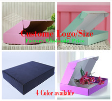 hot wholesale Recycle Custom cloth /shoe Packaging Box, Packing Box for Package Wholesale,1000pcs a lot (free shipping)