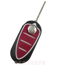 3 button Car key Case blank Folding Flip Remote Switchblade Key Shell for Fiat Alfa Romeo Mito Giulietta 159 GTA for alfa key