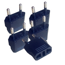 U.S.Brand high quality! 5 pcs US to EU Plug adaptor US to EU plug convertor Travel Adapter