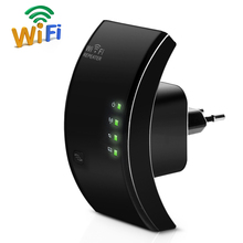 Wireless WiFi Repeater 300Mbps WiFi Extender 802.11N/B/G Wifi Network Antenna Signal Boosters Amplifier Wi-fi Wps Encryption(China)