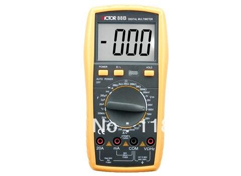 High Quality Digital Multimeter/Victor/VC88B/3 1/2 Digital Multimeter Electrical Meter<br><br>Aliexpress