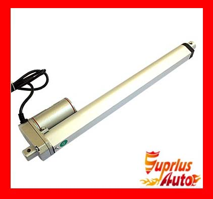 electric linear actuator 24/600mm stroke, 1000N/ 225LBS Load 12V/24V DC linear actuator<br>