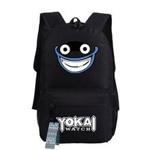 New Anime Youkai watch Cosplay Backpack oxford Cute Cat Schoolbags Fashion Unisex Travel Laptop Bag