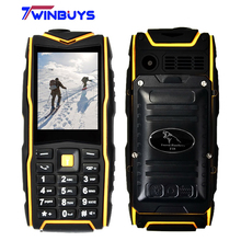 "Forest Panthers F18 V8 IP67 Rugged Waterproof Shockproof phone Flashlight Power Bank Phone Dual SIM Outdoor phone 2.4"" 2500mAh"
