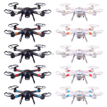 Free Shipping RC Drones Update GW007-1 DM007 GW007 With Ten Colors Can Add HD 2MP Camera 6-Axis 2.4G 4CH Quadcopters KO X5C X600