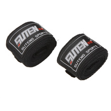 2PCS/Roll 100% Cotton Hand Wraps Muay thai wrap Width 5cm Length 2.5M Sports Strap Boxing Sanda Muay Thai Taekwondo Bandage(China)