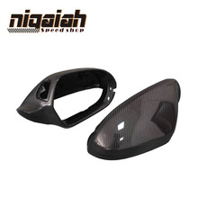 1:1 Replacement for Audi A6 C7 S6 RS6 2012 2013 2014 2015 2016 Carbon Fiber Mirror Covers Rear View With Lane Change Assist(China)