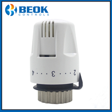 Beok 2 Pieces OTN700 Thermostatic radiator valve With CE Liquid sensor Thermostat head; Thermostat head for Floor heating system(China)