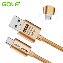 GOLF 1m 2m 3m Micro USB Data Sync Charger Cable For Samsung Galaxy S6 S7 Edge LG Moto HTC OPPO Android Phone Fast Charging Wire(China)