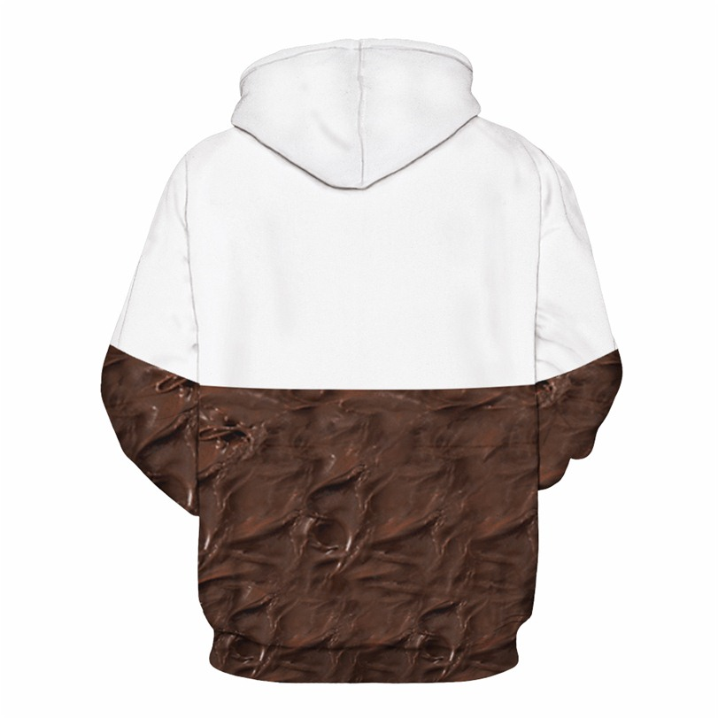 Nutella Hoodie Men Women 3D Chill Chocolate Print Hooded Funny Fashion Harajuku Graphic Hoodies Sweatshirt Casual Fitness Tops
