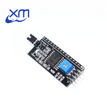 50pcs Serial Board Module Port IIC/I2C/TWI/SPI Interface Module for 1602 LCD Display Drop Shipping Wholesale