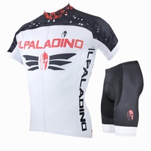 ILPALADINO Cycling Jersey Professional Team To Ride Bicycle Clothes Outdoor Sports White Short Sleeved Shirt Blazer