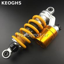 KEOGHS Motorcycle Rear Shock Absorber Gas Shock For Thailand Honda Msx125 Grom Single Shock Monkey Ktm Dirt Bike Yamaha Kawasaki(China)