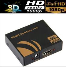 True HDMI 1.4V 1080P HDMI Splitter 1X4 HDMI splitter 1X2  3D&up to 4kX2K supported with power adapter