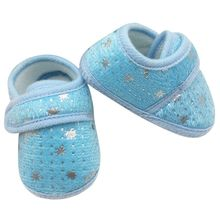 Infants Bay Boys Girls Shoes Cotton Crib Shoes Star Printed Prewalker(China)