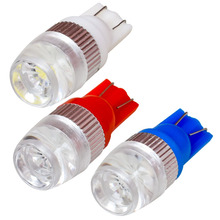 1PCS High Quality T10 W5W LED Car Interior Light Marker Lamp 168 194 LED Auto Wedge Bulbs Parking Light White Red Blue DC 12V(China)