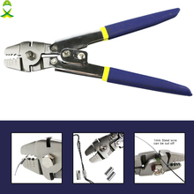 JSM Fishing Plier Stainles Steel Carp Fishing Accessories Fish Line Cutter Scissors Crimping terminal tool fishing tackle