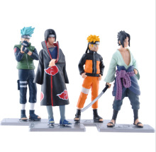 1PC 12cm Japanese Anime 17 Generation Naruto Action Figures Naruto Sasuke Kakashi Itachi Garage Kits one set With Gift Boxes