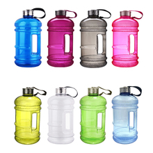 Special 2.2L Capacity Water Bottles Outdoor Sports Gym Half Gallon Fitness Training Camping Running Workout Water Bottle(China)