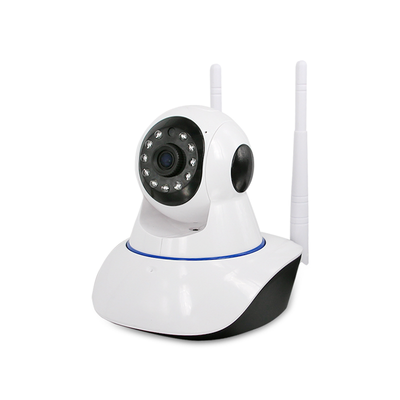 Dual antenna Wireless camera,1.0MP IP Camera Security Surveillance IR Night Vision Baby Monitors,sn:X2-PH36<br>