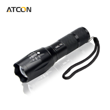 USA EU Hot E17 CREE XML T6 3800LM Waterproof Aluminum Torch light 5 Modes Zoomable LED Flashlight For Outdoor Camping lighting