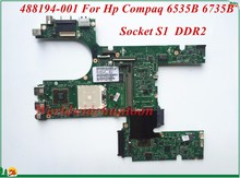 High Quality Motherboard 488194-001 For Hp Compaq 6535B 6735B Laptop Motherboard Socket S1 DDR2 100% Tested