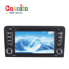 "Dasaita 7"" Android 6.0 Car GPS DVD Player Navi for Audi A3 Audi S3 2003-2013 with 2G+16G Quad Core Stereo Radio Multimedia HDMI(China)"