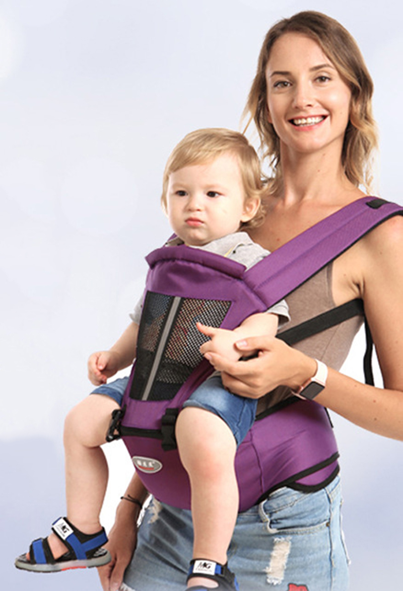 Baby Carriers Multifunction 0-36 Months Breathable Front Facing Infant Comfortable Sling Backpack Pouch Wrap Baby Belt BB3069 (12)