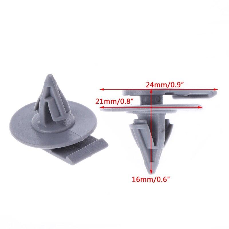 10X 5mm Trims Clips MINI COOPER CONVERTIBLE COUNTRYMAN Rivet Screw Fixing Panel