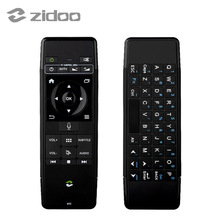 ZIDOO V5 2.4G Wireless Keyboard Air Mouse Rechargeable Combos with Voice Input for Google Android TV Box iOS HTPC Pad and More